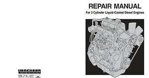 briggs stratton vanguard 3cylinder diesel lc engines repair service rh ebay com Ford F-350 Diesel Manual Ford F-250 Diesel Manual
