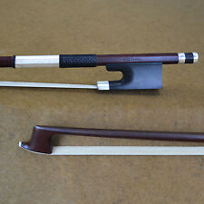 Hurry! - USD100 Off!! Antique Full Silver Mounted Master Pernambuco Viola Bow