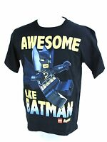 LEGO Awesome Like Batman Black Novelty T-Shirt Tee Youth Kids