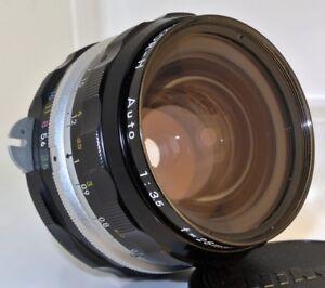 NIKON-NIKKOR-H-Auto-1-3-5-f3-5-28mm-non-Ai-d-Prime-Manual-Focus-Lens-VERY-CLEAN