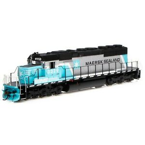 HO-Scale-Athearn-71628-SD40-2-Norfolk-Southern-Maersk-3329-w-SOUND-DCC