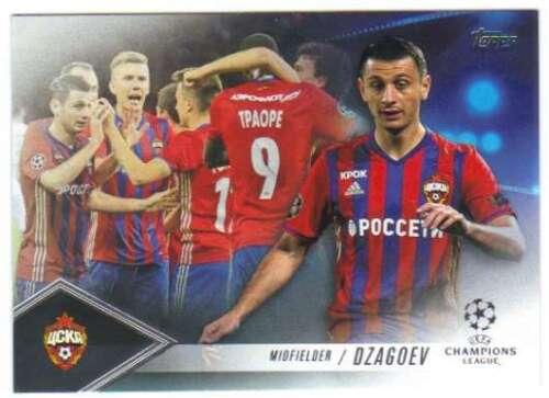 2017 2016-17 Topps UEFA Champions League Showcase Pedigree CP-ADZ Alan Dzagoev