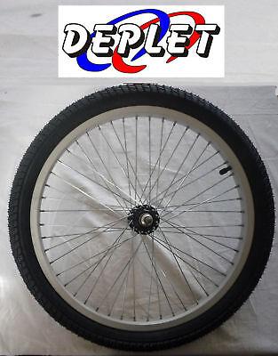 """Roue 20/"""" Avant BMX Dirt Freestyle Jante Pneu NEUF wheel rim tire front remorque"""
