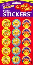 60 TREND Sun Fun (TUTTI FRUTTI) Scratch and Sniff Stickers