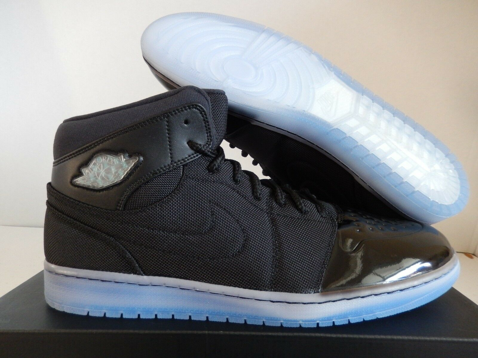 Nike air jordan 1 '95 txt nero-gamma blue-varsity mais sz 15 [616369-089]