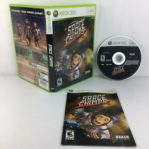 Space Chimps Xbox 360 Kids Game Complete CIB VG free fast shipping