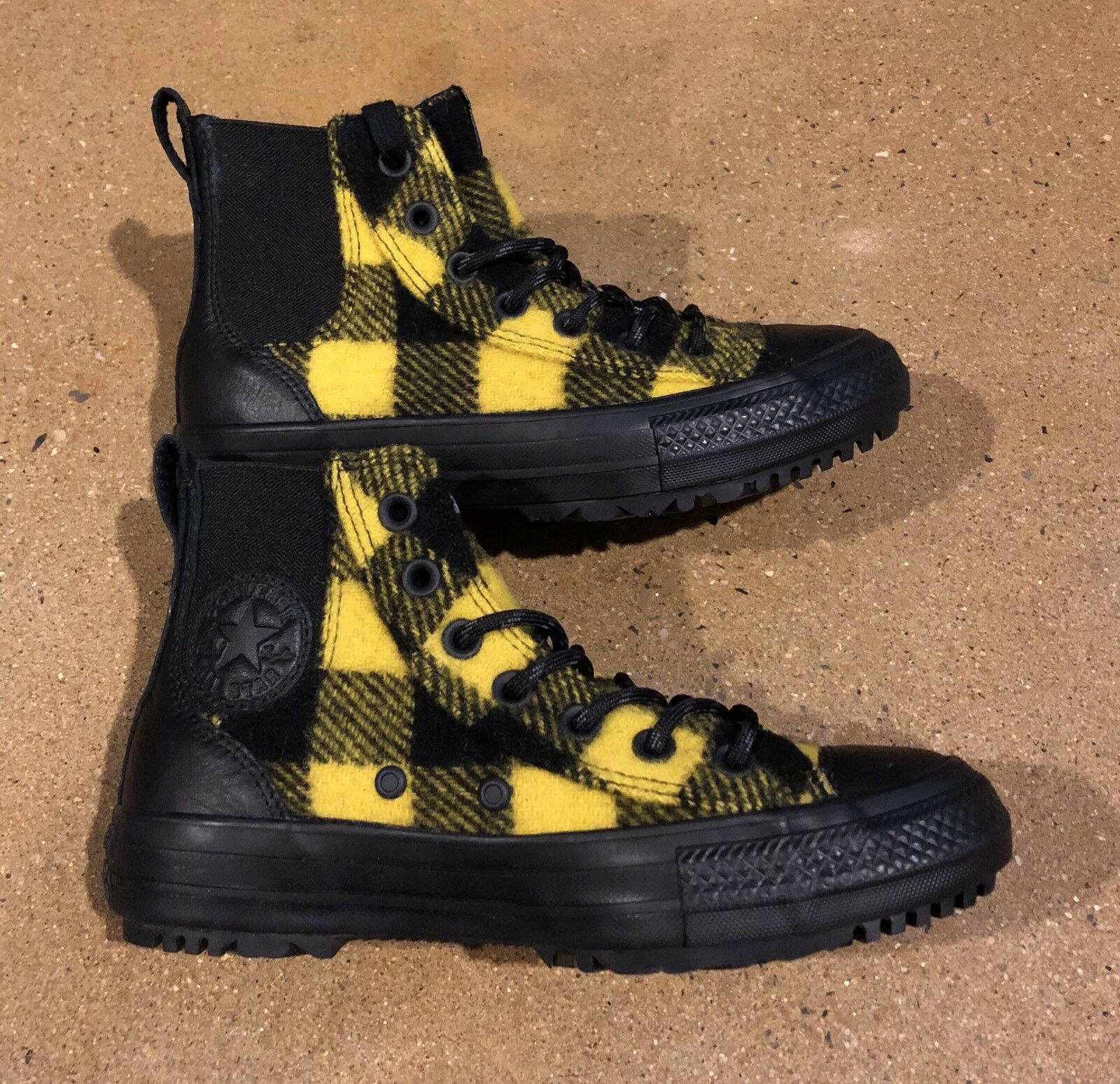 Converse Chuck Woolrich Taylor All Star Woolrich Chuck Chelsea Botas EE. UU. para Mujer 112c04