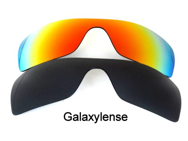 Galaxy Replacement Lenses for Oakley Batwolf Black&red Polarized 2 Pair 100 UVAB