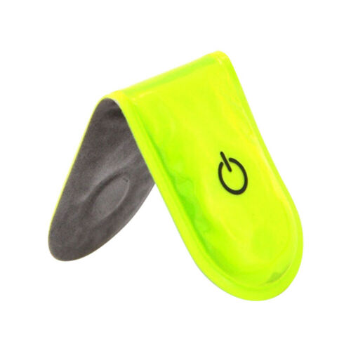 LED Safety Light Reflective Magnet Clip On Strobe Running Bike Cycling H Cy/_ DI