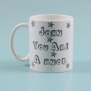 You/'re a knob but you/'re my knob personalised valentines day mug Anniversary