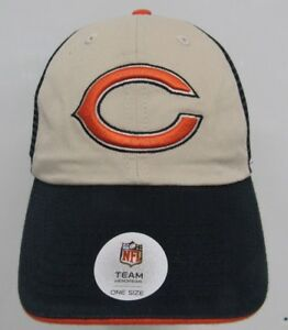Image is loading NFL-Chicago-Bears-Baseball-Cap-Hat-Adjustable-Snapback 49747ddc974d