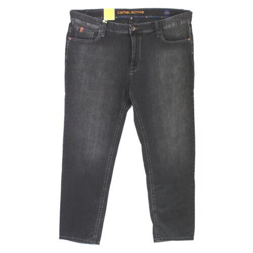 CAMEL ACTIVE Herren Jeans Hose HOUSTON Stretch black used schwarz 17967