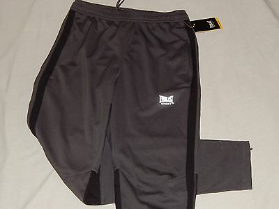 NEW Everlast Boxing MEN/'S Gray Athletic Breathable Sweat Pants Mesh Gym Running