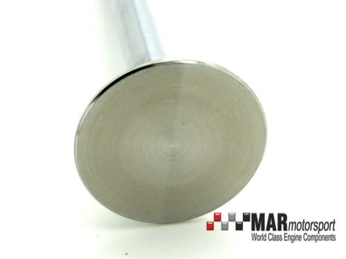 from OE drawings 2 x YB Cosworth Exhaust Valves Sodium Filled OE manufacturer