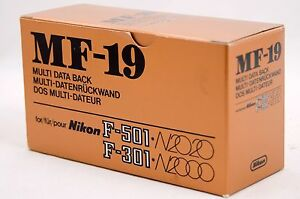 Nikon-MF-19-Multi-Databack-for-F-501-N2020-amp-F-301-N2000-Boxed-New-Old-Stock