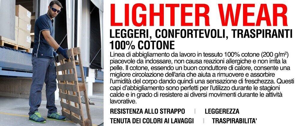 Immagine 4 - Pantaloni da lavoro COFRA modello NEAPOLI edilizia industria logist 100% cotone
