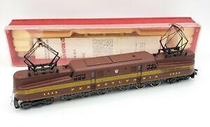 Ho-Scale-AHM-RIVAROSSI-PENNSYLVANIA-5160-PRR-Red-G-G-1-4929-Powered-SERVICED