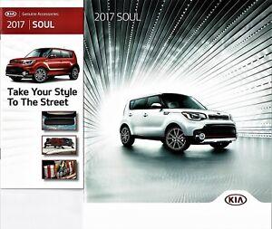 Kia Soul Accessories >> 2017 Kia Soul Plus Exclaim 28 Page Dealer Sales Brochure