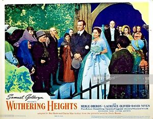 Wuthering Heights 16mm B&W Classic Feature Laurence Olivier Merle Oberon 1939