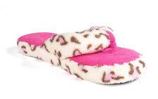 Happy Feet - Happy Feet - Coral Plush Thong Slipper - Medium