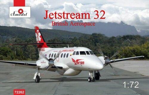 scale plastic model kit Amodel 72262-1//72 Jetstream 32 British Airliner