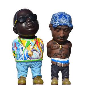 5 5 the notorious b i g and 2pac tupac amaru shakur with blue