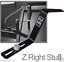 Z-Bar-Z-Right-Stuff-Shure-A45Z-Microphone-Mount-for-Guitar-Amplifiers-BRAND-NEW