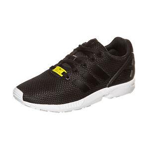 Kinder Adidas Originals Zx Flux SchwarzWeiss Outdoor Schuhe