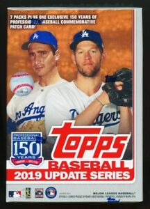 2019-Topps-Update-Baseball-Sealed-Blaster-Box-Tatis-jr-RC-Rookie-Debut-Vlad-Jr