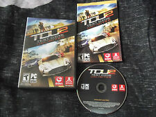 TEST DRIVE UNLIMITED 2 PC-DVD RACING V.G.C. ( includes 45 page games manual )