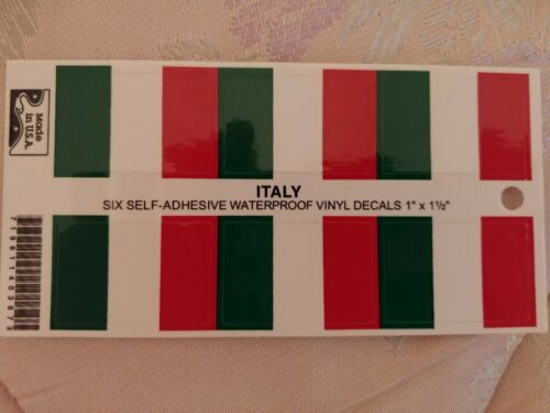 BRAND NEW BEST QUALITY YOUR CHOICE WORLD FLAG BUMPER STICKER ADHESIVE MINI DECAL