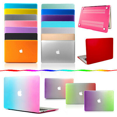 """MacBook Case for Apple Air Pro Retina 11"""" 13"""" 15"""" Hard Rubberized Shell Cover"""