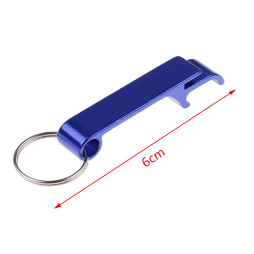 3xSet Bottle Opener Key Ring Chain Keyring Keychain Metal Beer Bar Tool Claw TK