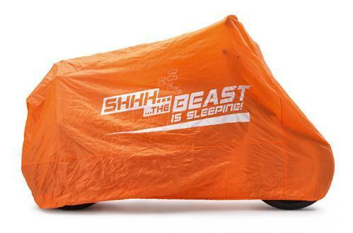 "KTM PROTECTIVE OUTDOOR BIKE COVER /""SHHH THE BEAST IS SLEEPING/"" 61312007000"