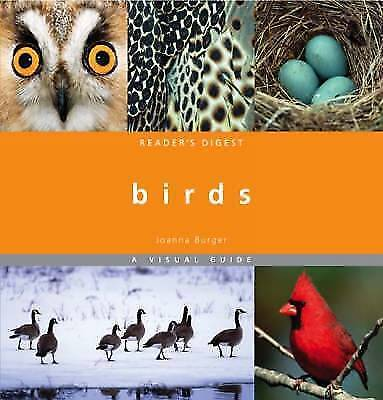 """1 of 1 - """"VERY GOOD"""" Burger, Joanne, Birds: A Visual Guide, Book"""