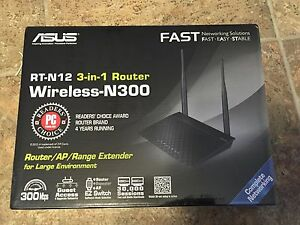 Asus RT-N12 Wireless Router Drivers