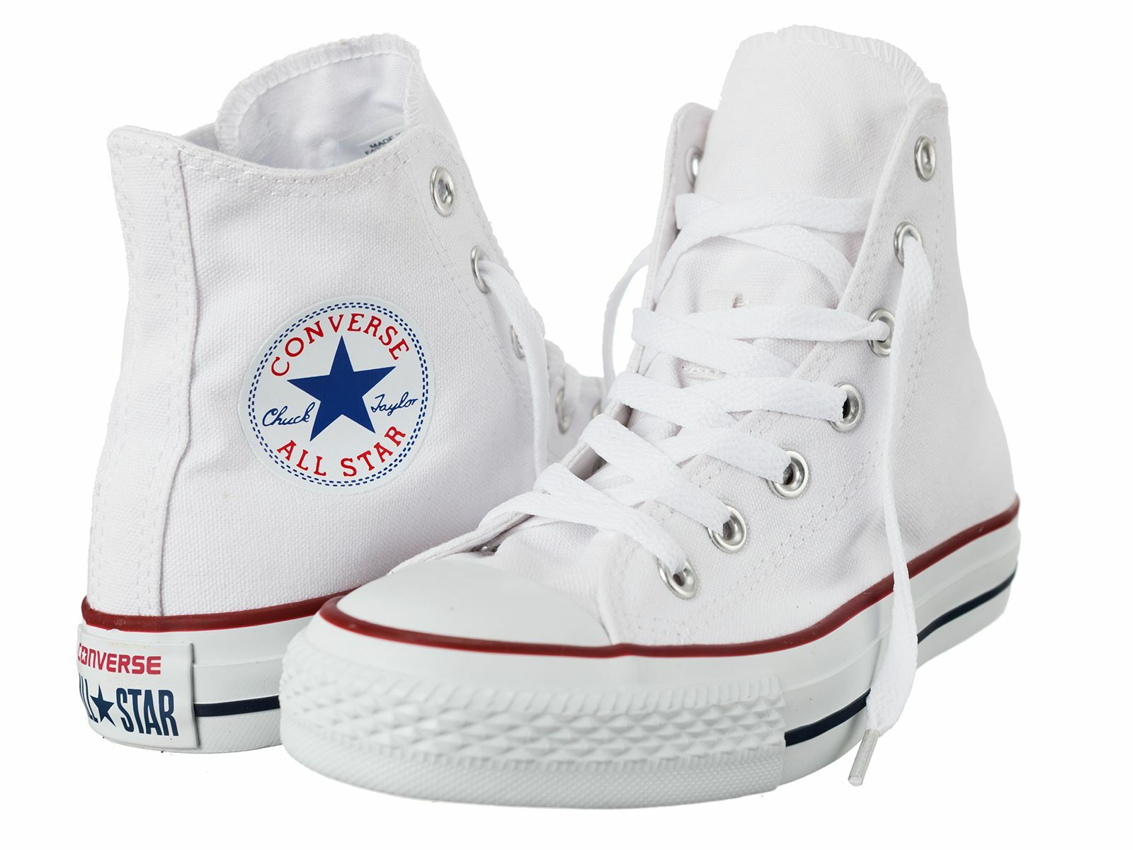 Converse Unisex HI-TOP Optical Blanco All Star Canvas M7650C M7650C Canvas All Talla Avialable d5b9d3