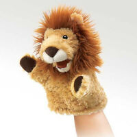 Little Lion Stage Puppet 2930 Free Shipping/usa Folkmanis Puppets