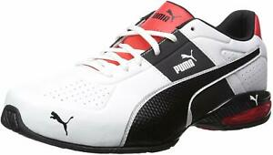 PUMA-Mens-cell-surin-2-fm-Low-Top-Lace-Up-Running-White-Black-Size-11-0-sjeh