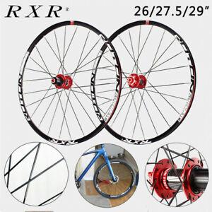RXR-Wheel-set-MTB-Bike-Bicycle-Carbon-Hub-Clincher-26-27-5-29inch-Superlight