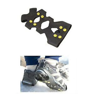 Artimate-Snow-and-Ice-Shoe-Grippers-Boot-Crampons-Black-M-UK-4-to-7