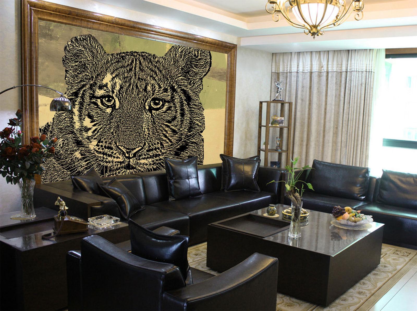 3D Animal leopard 3119 Paper Wall Print Decal Wall Wall Mural AJ WALLPAPER GB