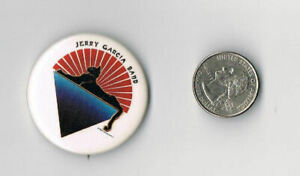 JERRY-GARCIA-BAND-Cats-Under-Stars-LP-Album-PROMO-PIN-Button-Badge-GRATEFUL-DEAD