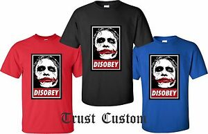 0d9212d5 Details about Batman The Dark Disobey The Joker Heath Ledger Tribute T Shirt  all sizes s-4xl