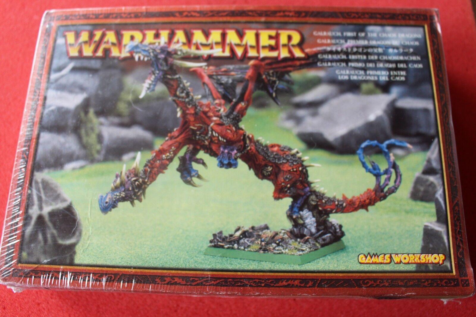 Games Workshop Warhammer Chaos Dragon Galrauch New BNIB GW Metal OOP Sealed GW