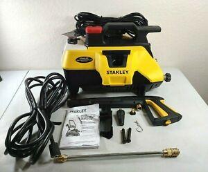 Stanley SLP2050 Electric Power Washer, Medium, Yellow