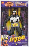 Toy Biz 1994 Venom Large Size Electronic Talking Action Figure Nip 15