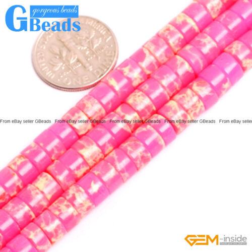 "Sea Sediment Jasper Gemstone Heishi Spacer Beads Free Shipping 15/"" 4mm 6mm 8mm"