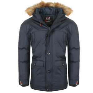 sports shoes 9cb93 9606e Dettagli su Canadian Peak Anolite By Geographical Norway Parka Uomo Giacca  Invernale Parker