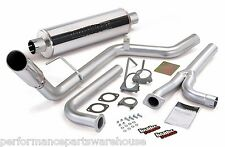 BANKS MONSTER EXHAUST For 2005-15 NISSAN FRONTIER - CHROME TIP
